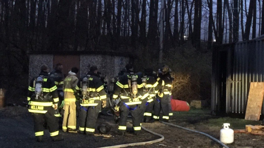Tallman Firefighters Recertified on Flashover Training