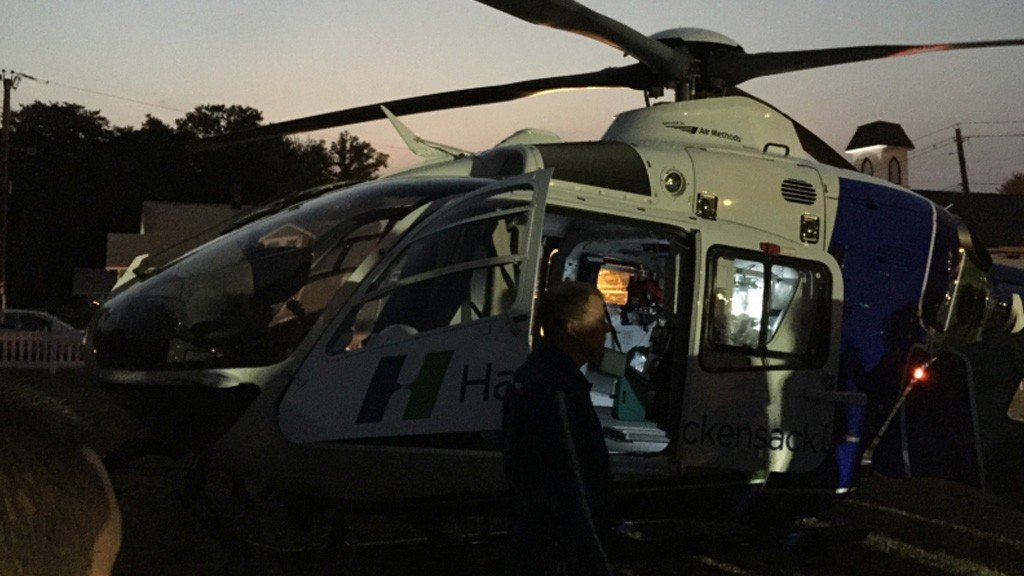 Tallman Hosts Mutual Aid Helicopter Drill