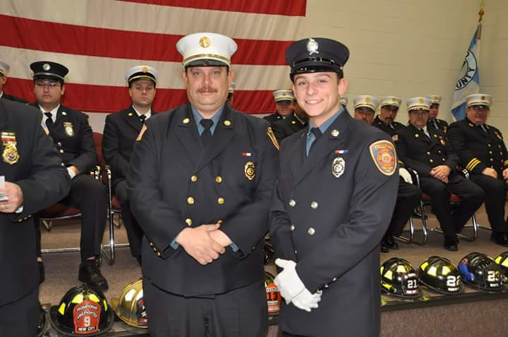 Congratulations to our newest Firefighter to complete Fire Fighter 1 Training