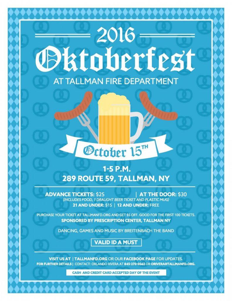 Tallman FD Hosting Octoberfest
