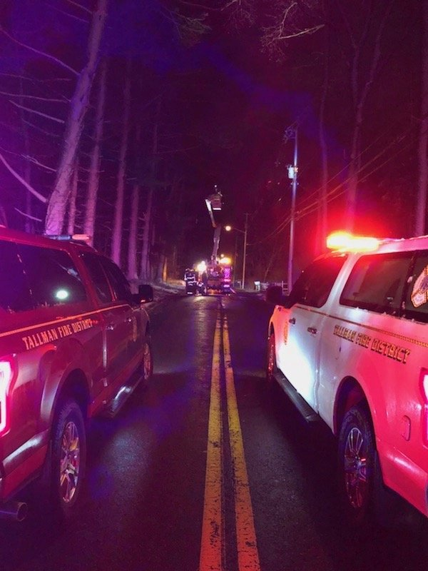 Tallman responds to over 20 calls during Nor'easter