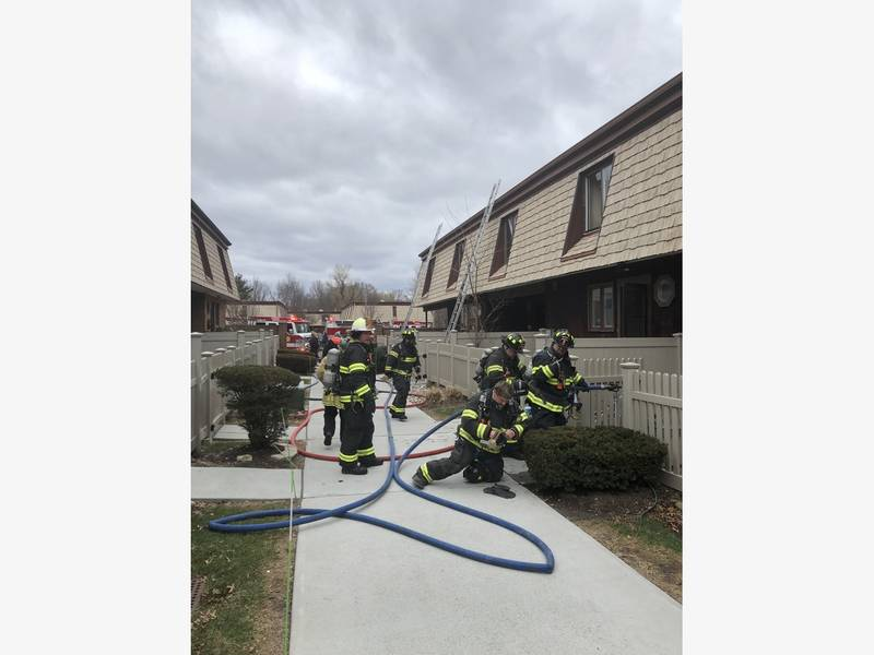 Tallman provides mutual aid to New City Condo fire